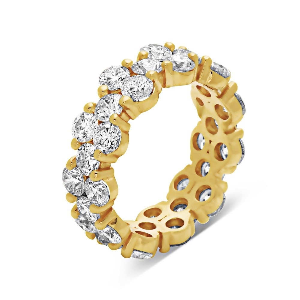 pav set gold yellow in diamond wb eternity band bands french pave